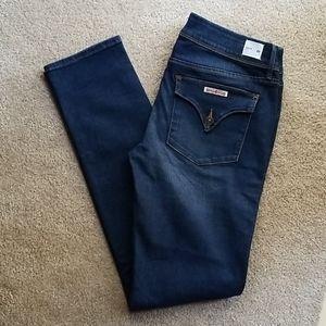 Hudson Jeans Collin Skinny Distressed Flap Pocket